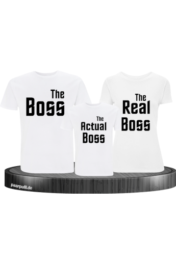 Real Boss 3er-Set Familienlook