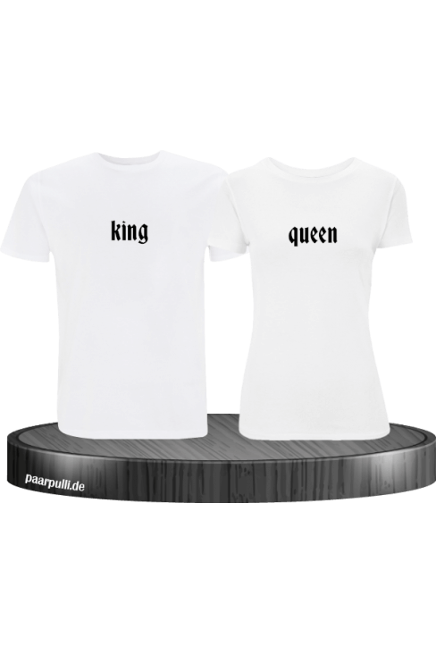 king queen t shirts in weiß