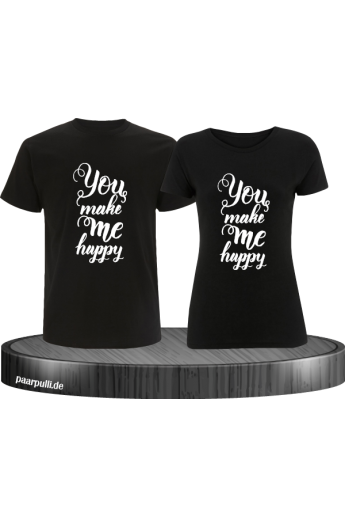 You make me Happy Partner T-Shirt Set