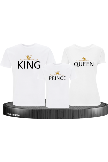 Familie Shirts - King Queen...