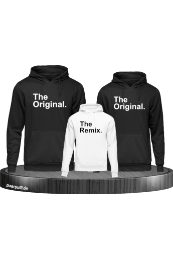 The Original & The Remix Familien Pullover Set