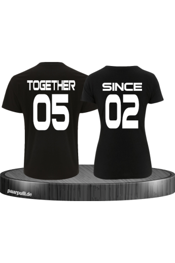 Together Since Partner T-Shirt Set