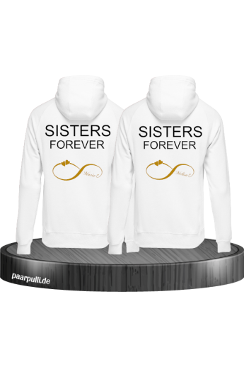Sisters Forever Pullover Set - Pullis für BFF (Best Friend Forever)