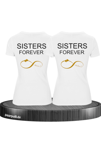 Sisters Forever BFF / Best Friend T-Shirts