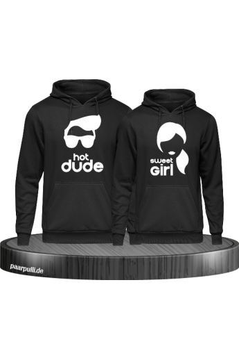 Hot Dude Sweet Girl Partnerlook Hoodies