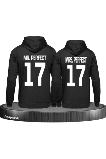 Mr Mrs Perfect Partnerlook Pulli - Partner Pullover