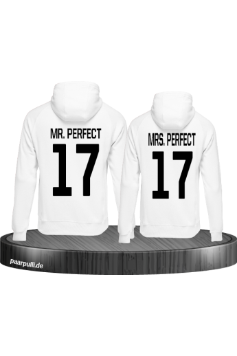 Mr Mrs Perfect Partnerlook Pulli