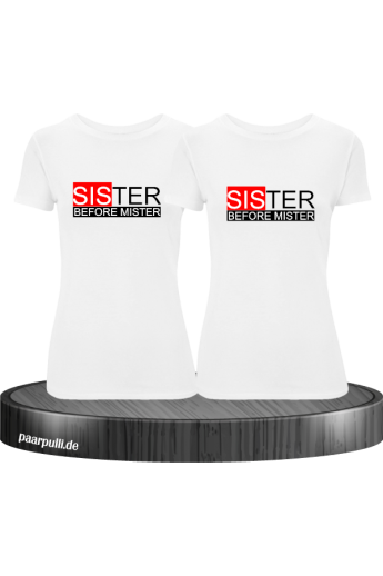 Sister before Mister familienlook