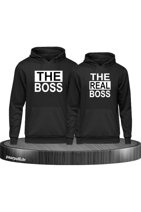 The Real Boss schwarz partnerlook