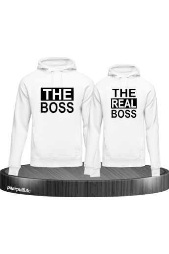 The Real Boss weiß partnerlook