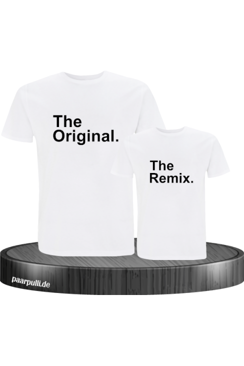 The Original The Remix weiß