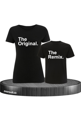 The Original The Remix Mutter und Kind T-Shirt Set