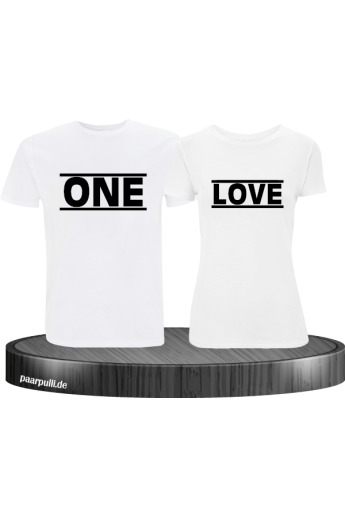 Partner-Shirt  One Love