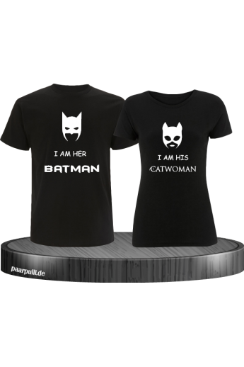 Couple-Shirt Batman & Catwoman