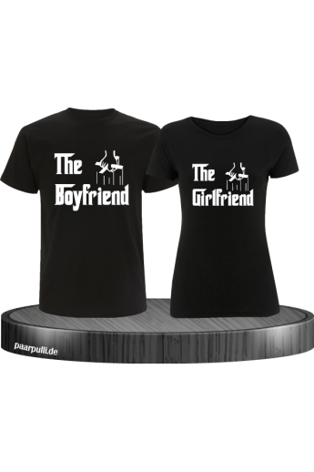 The Boyfriend und The Girlfriend im Partnerlook Set schwarz