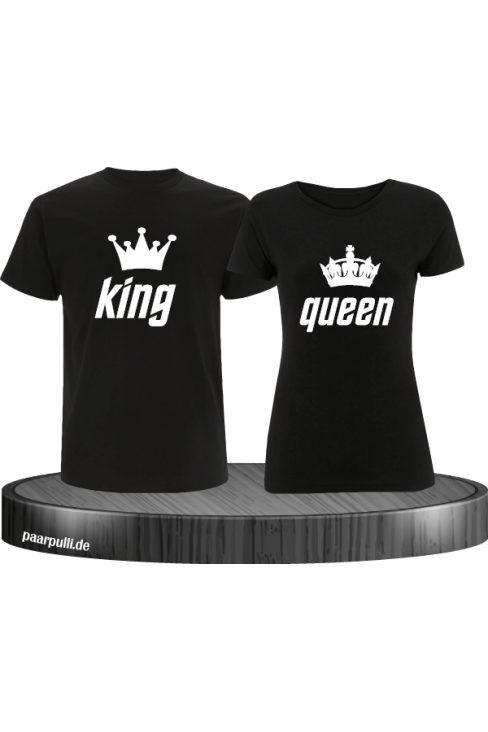 King Queen Partnerlook Set