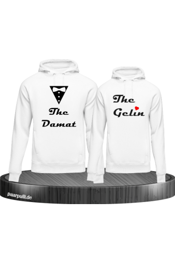 Gelin Damat Paar Pullover - Partnerlook Set