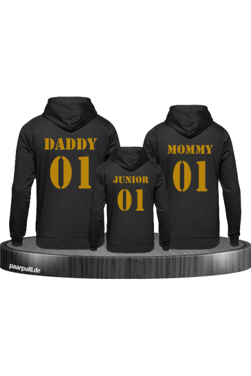 mommy daddy junior family schwarz