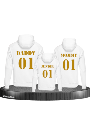 Mommy Daddy und Junior Family Set