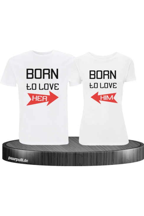 Born to Love T-Shirt Set