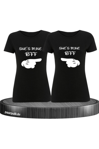 She´s mine Best Friend T-Shirt Set - Beste Freunde T-Shirts