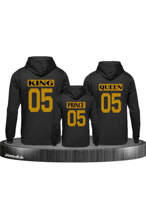 King Queen Prince oder Princess Familienlook Partnerlook