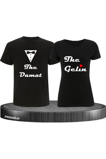 The damat the gelin partnerlook set in schwarz