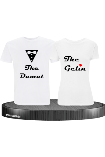 The Gelin The Damat Partnerlook T-Shirts