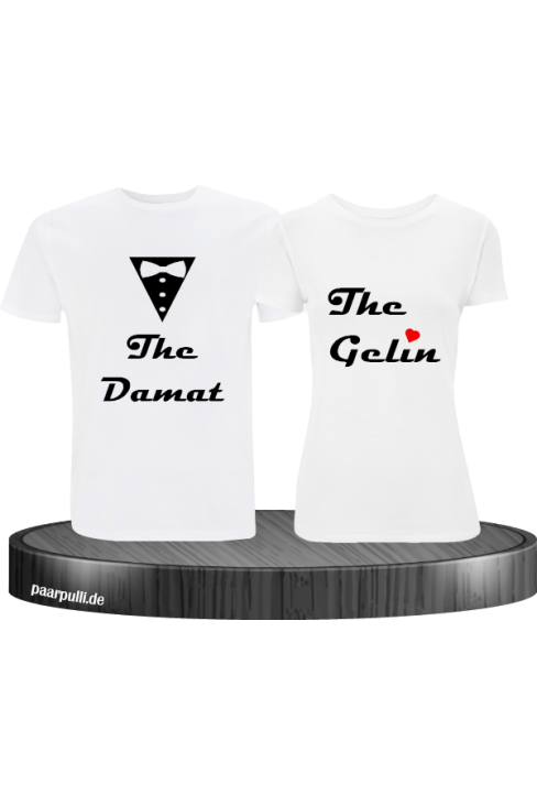 The damat the gelin partnerlook set in weiß