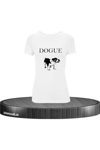 Dogue Dog bedrucktes T-Shirt