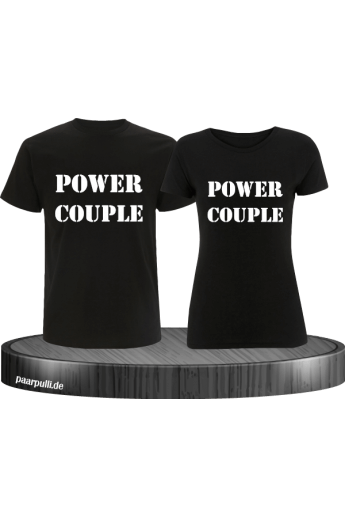 Power Couple T-Shirts...