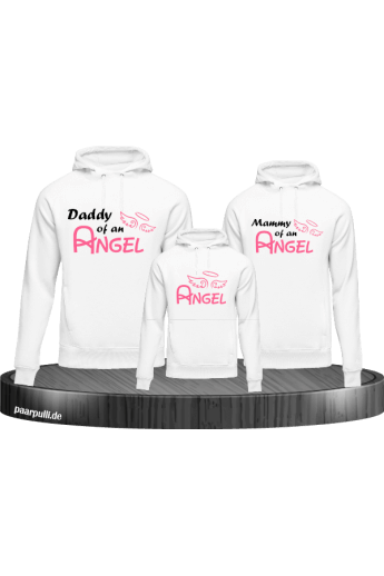 Angel Family 3er Hoodie Set