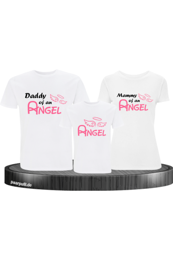 Angel Family 3er T-Shirt Set