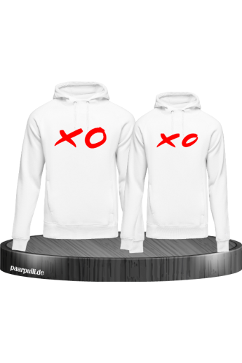 XO partnerlook hoodies