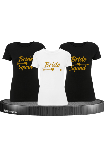 Bride Squad und Bride in gold