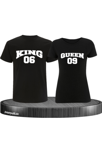 King & Queen T-Shirts...
