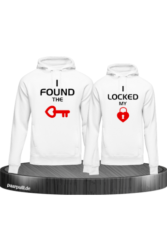 Hoodie-Set I locked my heart