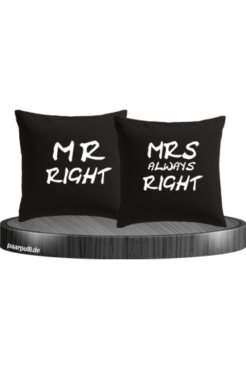 Mr Right und Mrs always...