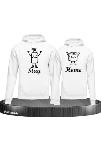 Stay Home Partnerlook Hoodies