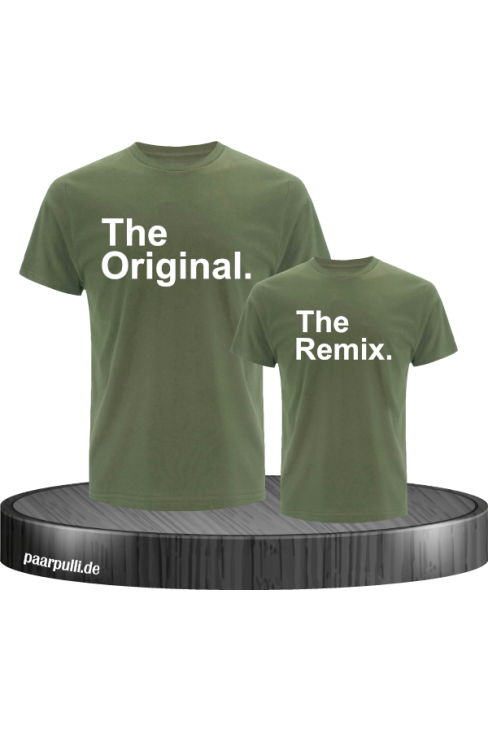 The Original und The Remix in khaki