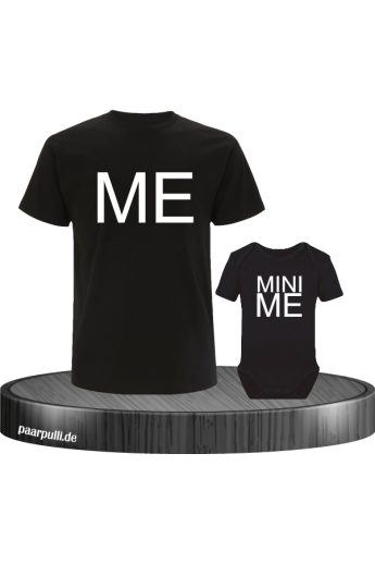 MiniME partnerlook set in schwarz