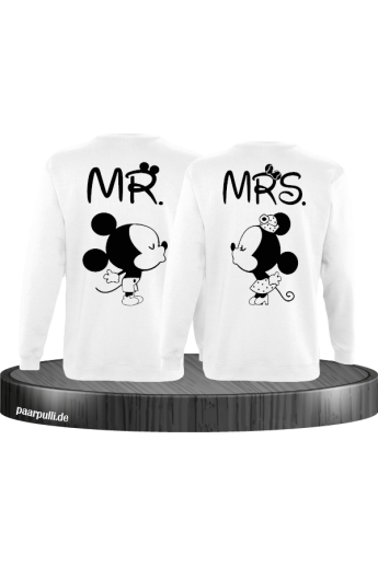 Mr. und Mrs. Partnerlook Sweatshirts