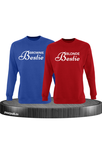 Brownie Bestie und Blonde Bestie Sweatshirts
