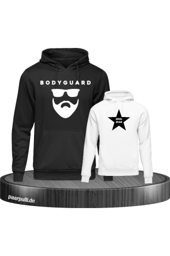 Bodyguard und Little Star...