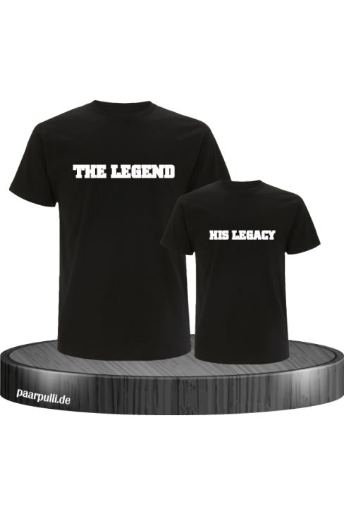 The Legend and His Legacy Vater Sohn Partnerlook Design
