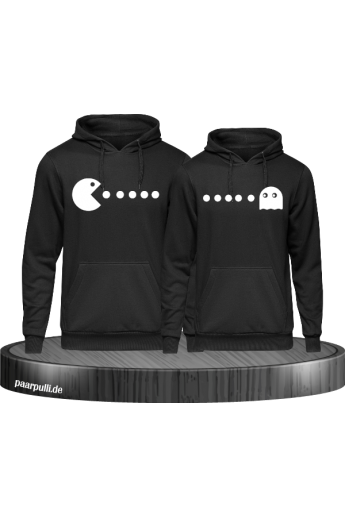 Arcade Style bedruckte Hoodies als Partnerlook Set