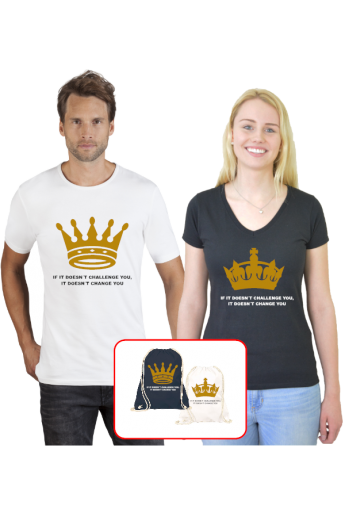 King and Queen Komplett Set...