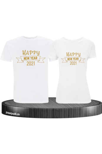 Happy New Year 2021 Partner T-Shirts