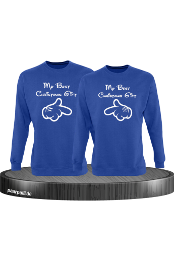My best Christmas Gift Partnerlook Sweatshirts