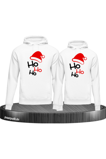 Ho Ho Ho Partnerlook Hoodies